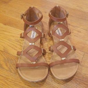 Steve Madden Strappy Flat Sandals